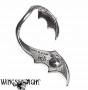 Alchemy Gothic Night With Goethe Bat Wing Ear Wrap Earring